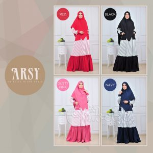 Model Baju Busana Muslim Casual Terbaru Ibu dan Anak