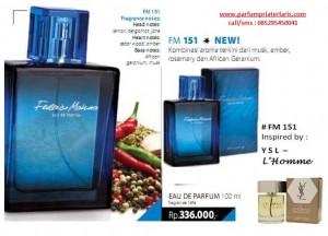 Parfum Pria FM 151