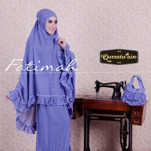 jual mukena murah online Fatimah Mukena by Qurratuain