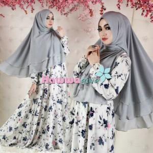 model baju pesta muslimah modern terbaru lebaran 2015 hawwa aiwa