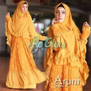 model baju busana gaun muslim modern trendy online indonesia Aruni by be Glow