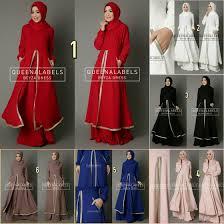 jual baju muslim gamis modern terbaru untuk pesta online tanah abang beyza from queenalabels