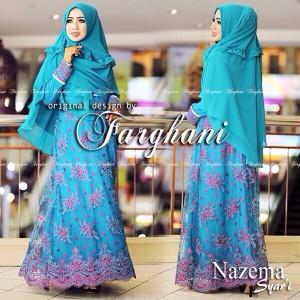 distributor baju busana muslim modern syar'i 2015 thamrin city nazema syari by farghani