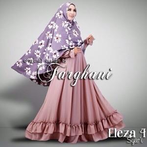 baju muslim gamis syari terbaru 2015 modern murah berkualitas online di bandung eleza 4 dari farghani