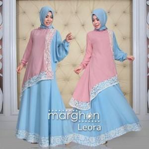 busana muslim baju syari terbaru 2015 trendy modern murah leora dari marghon
