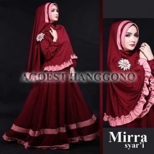 gaun muslimah elegan mewah modern terbaru 2015 model syari mirra by agoest hanggono