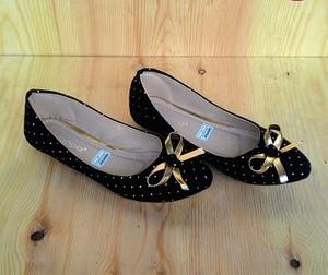 Sepatu Flat Wanita Hitam Murah Online