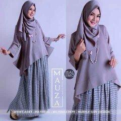 jual baju muslim modern terbaru 2016 model atasan mauza balimo