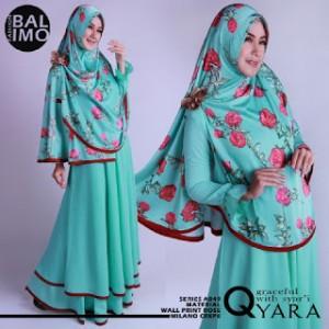 baju muslim model gamis syar'i terbaru qyara balimo