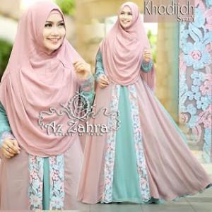 Baju Muslim Gamis Syar'i Khadijah Azzahra