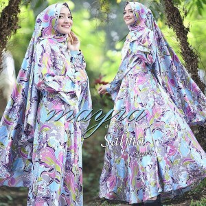 Baju Muslim Modern Salma Syari By Mayra