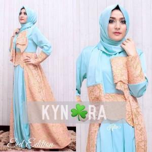 Model Baju Gamis Brokat Modern Kylie by Kynara