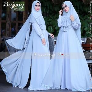 Baju Muslim Gamis Syar'i Bojeng Karaeng Hilda