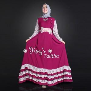 Jual Baju Busana Muslim Couple Keluarga Talitha Mom and Kids Koys
