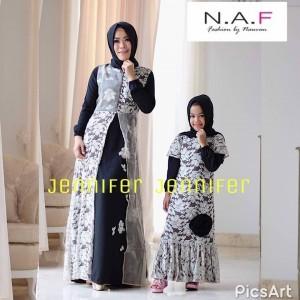 Jual Baju Couple Muslim Brokat Cantik by NAF