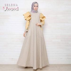 Jual busana muslim tebaru Selena dress by ummi